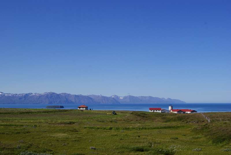 Farm north of Húsavík
